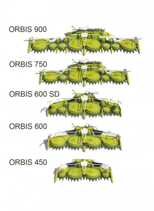 JAGUAR ORBIS 900 / 750 / 600 SD / 600 / 450