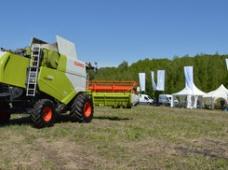 Более 100 машин CLAAS было представлено на Днях поля в России
